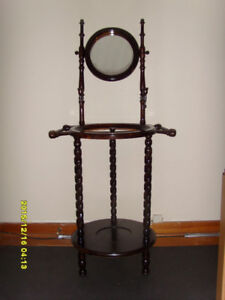 Furniture WASH STAND WITH BASIN AND EWER - $180