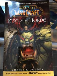 World of warcraft - Rise of the Horde - Anglais