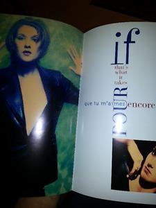 Programme Celine Dion Pour que tu m'aimes encore