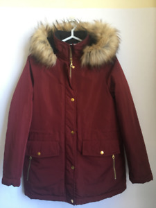 Women's red tradition winter jacket