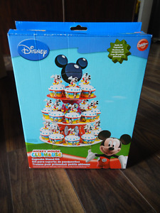 Mickey Mouse Clubhouse Cupcake Stand Kit *New in Package*