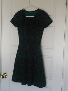 Small Green Floral Dress
