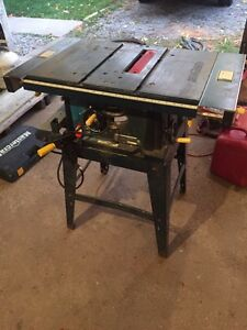 "10"" tablesaw for sale"