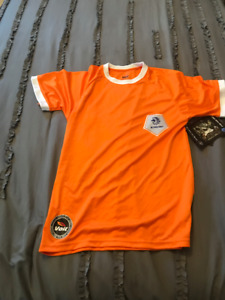 NETHERLANDS VOLT OFFICIAL WORLD CUP YOUTH SOCCER JERSEY!