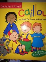 Cauillou my book of great adventures