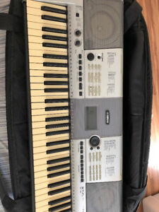 Yamaha Keyboard - Stand and Bag included