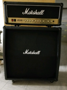 Marshall JCM 2000 DSL 50 Head and Cabinet