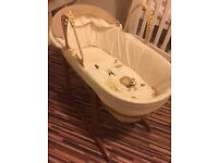 Moses basket x2 stands