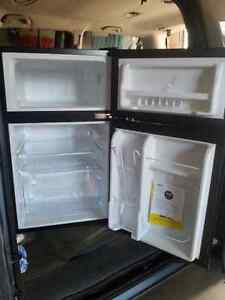 Brand new bar fridge with freezer