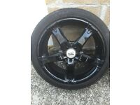 Set of multi fit 17in wheels