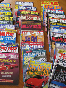 Road & Track Vintage Car Magazines