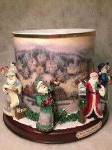 "Thomas Kinkade ""It's Christmas Time"" Candle Holder Centerpiece Belleville Belleville Area image 2"
