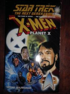Livre Star Trek The next generation X-Men Planet X