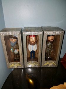 Duck Dynasty collectible bobbleheads