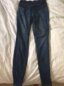 H&m size 10 maternity skinny jeans