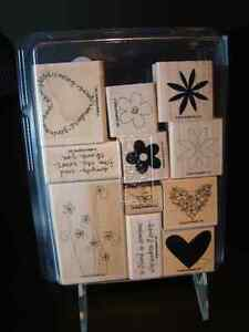"Stampin' Up ""Simply Said"" stamp set"
