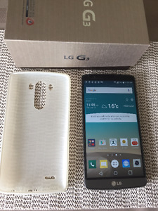 LG G3 32 GB unlocked for all carriers & accessories