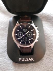 Pulsar VD53-X012 men's chrono watch.