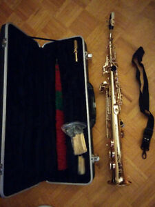 Baron Soprano Saxophone Excellent Condition