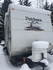 Pigeon Lake Lot and Trailer