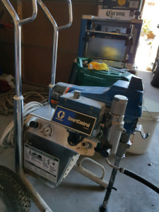 Paint sprayer. Graco finished pro 385