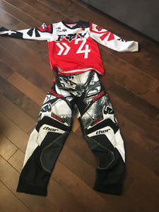 Youth MotorCross Pants and Top for Sale