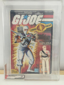Gi Joe Storm Shadow 1984 MOC AFA graded 70 EX+