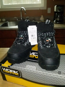 Men's steel toe safety shoes