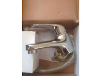 High quality solid chrome tap mono basin mixer,bargain at £30