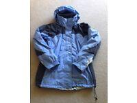 Ladies Columbia Ski Jacket c/w zipped in fleece size 14