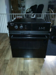 Jen Air in wall Range/ Oven & Creda  Glass Stove Top with vent