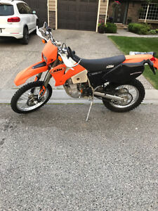 Immaculate 2003 KTM 525EXC (street legal) with lots of extras