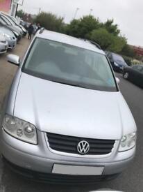 Volkswagen Touran SE TDi 7 Str DIESEL MANUAL 2004/54