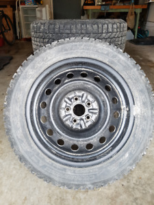 Firestone Winterforce Tires and Rims