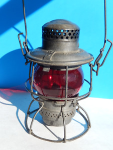 "FANAL de TRAIN - Kerosene Lamp - CNR - 1930""s"