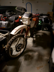 Yamaha DT200 1986 complete