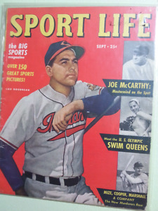Sport Life magazines 1948 (Sept, Nov, Dec)