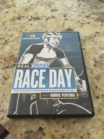 real rides race day cycling spinning dvd new