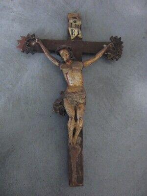 Kruzifix, Volkskunst, 19. Jahrhundert