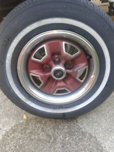 "Chevy or  Oldsmobile  13"" Rims   set of  4   Coquitlam"