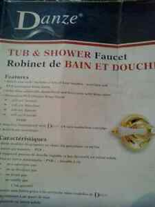 Danze tub and shower faucet
