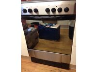 INDESIT Ceramic Electric Cooker with Single Oven