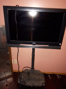 sony TV comes with stand