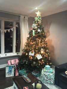 Beautiful Huge Christmas Tree