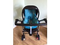 Travel system and car seat