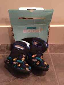 Baby Bogs Classic Trucks Waterproof Winter & Rain Boot, Size 4