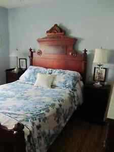Eastlake Antique Bed