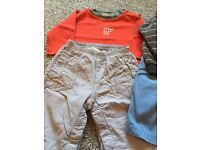 Bundle of Boys Baby Clothes Age 6-9months.