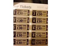 10 adults tickets for IPGVip Paintball