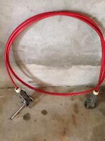 Tru course steering cable